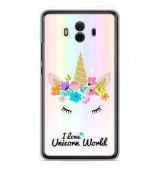 Coque en silicone Huawei Mate 10 - Unicorn World