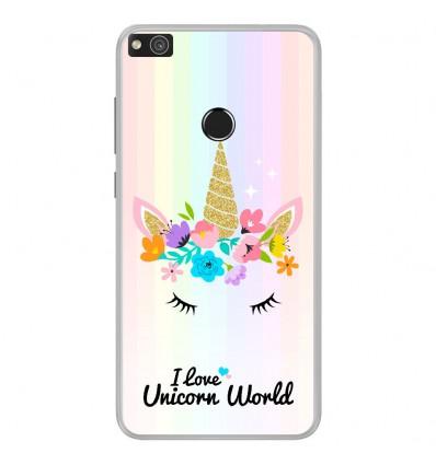Coque en silicone Huawei P8 Lite 2017 - Unicorn World