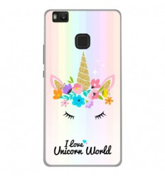 Coque en silicone Huawei P9 Lite - Unicorn World