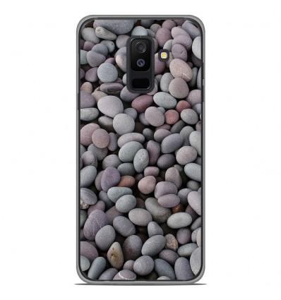 Coque en silicone Samsung Galaxy A6 Plus 2018 - Galets