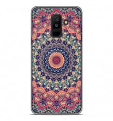 Coque en silicone Samsung Galaxy A6 Plus 2018 - Mandalla rose