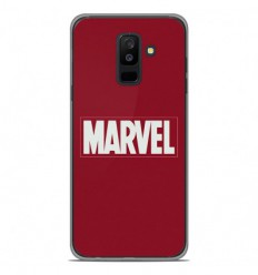 Coque en silicone Samsung Galaxy A6 Plus 2018 - Marvel