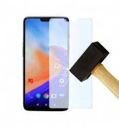 Film verre trempé - OnePlus 6 protection écran