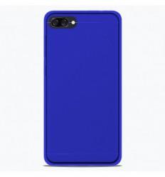 Coque Asus Zenfone 4 Max ZC520KL Silicone Gel givré - Bleu Translucide