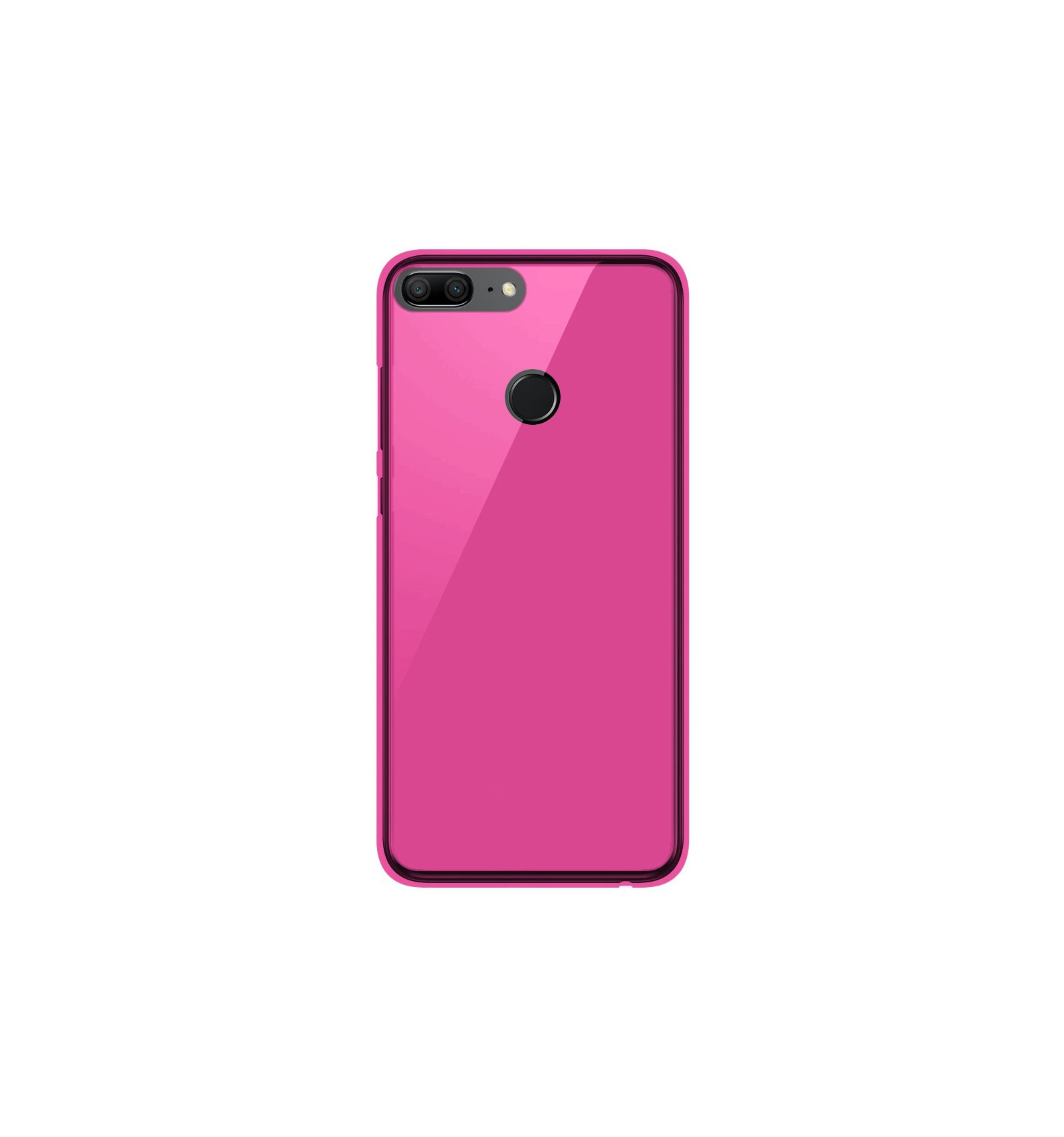 affordable price new arrival wide range Coque Huawei Honor 9 lite Silicone Gel givré - Rose Translucide