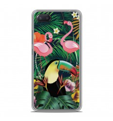 Coque en silicone Xiaomi RedMi 6A - Tropical Toucan