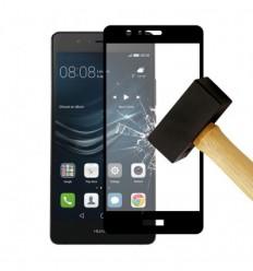 Film verre trempé 4D - Huawei P9 Lite Noir protection écran