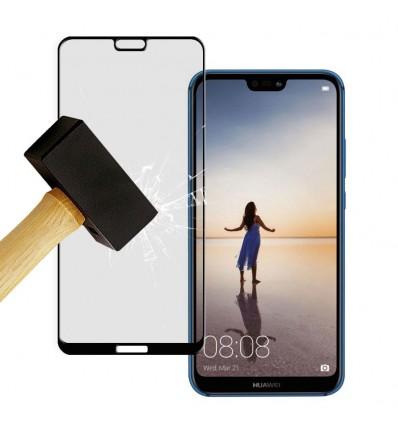Film verre trempé 4D - Huawei P20 Lite Noir protection écran