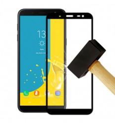 Film verre trempé 4D - Samsung Galaxy J6 2018 Noir protection écran