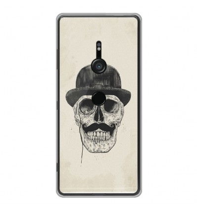 Coque en silicone Sony Xperia XZ3 - BS Class skull