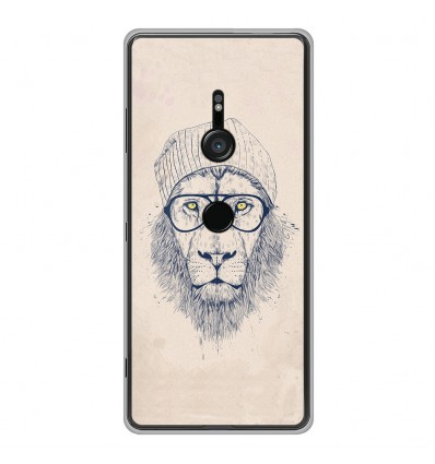Coque en silicone Sony Xperia XZ3 - BS Cool Lion