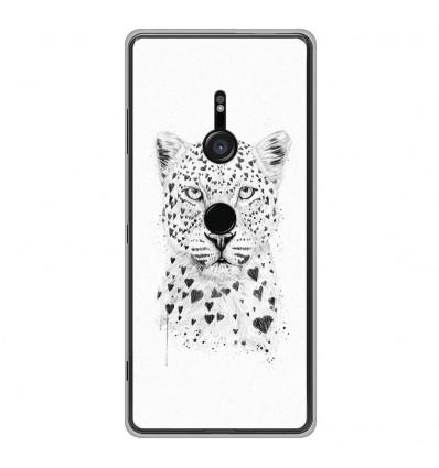 Coque en silicone Sony Xperia XZ3 - BS Love leopard