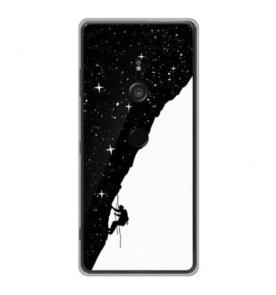 Coque en silicone Sony Xperia XZ3 - BS Nightclimbing