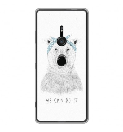 Coque en silicone Sony Xperia XZ3 - BS We can do it