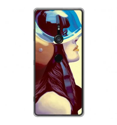 Coque en silicone Sony Xperia XZ3 - ML Helmetraus