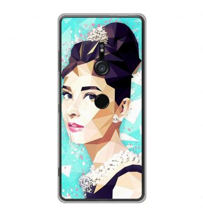 Coque en silicone Sony Xperia XZ3 - ML Hepburn