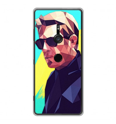 Coque en silicone Sony Xperia XZ3 - ML King of Cool
