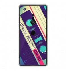 Coque en silicone Sony Xperia XZ3 - Cassette Vintage