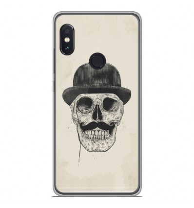 Coque en silicone Xiaomi RedMi Note 5 / Note 5 pro - BS Class skull