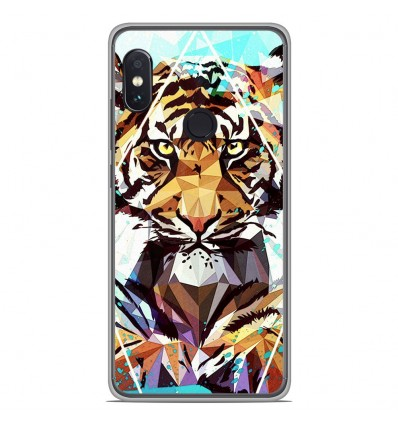 Coque en silicone Xiaomi RedMi Note 5 / Note 5 pro - ML It Tiger