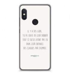Coque en silicone Xiaomi RedMi Note 5 / Note 5 pro - Citation 01