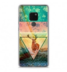 Coque en silicone Huawei Mate 20 - Cerf swag
