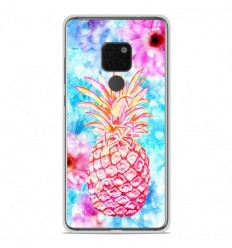 Coque en silicone Huawei Mate 20 - Ananas