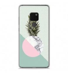 Coque en silicone Huawei Mate 20 - Ananas marbre