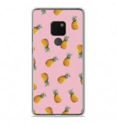 Coque en silicone Huawei Mate 20 - Pluie d'ananas