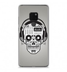 Coque en silicone Huawei Mate 20 - Skull Music