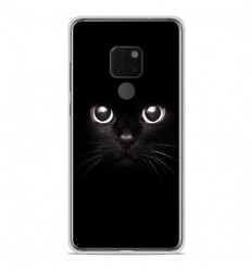 Coque en silicone Huawei Mate 20 - Yeux de chat