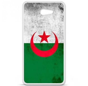 Coque en silicone Sony Xperia M5 - Drapeau Algérie