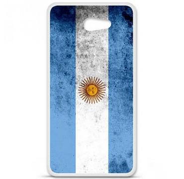 Coque en silicone pour Sony Xperia M5 - Drapeau Argentine