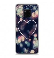 Coque en silicone Huawei Mate 20 Pro - Coeur Love