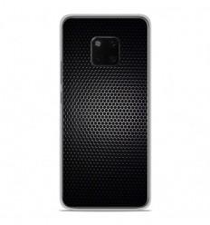 Coque en silicone Huawei Mate 20 Pro - Dark Metal