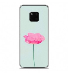 Coque en silicone Huawei Mate 20 Pro - Fleur Rose