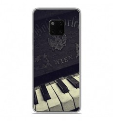 Coque en silicone Huawei Mate 20 Pro - Old piano