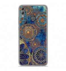 Coque en silicone Huawei Honor 8X - Mandalla bleu