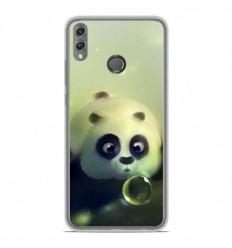 Coque en silicone Huawei Honor 8X - Panda Bubble