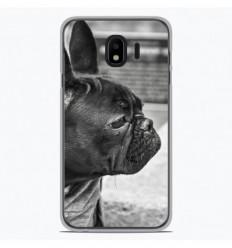 Coque en silicone Samsung Galaxy J4 Plus 2018 - Bulldog