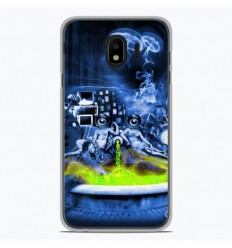 Coque en silicone Samsung Galaxy J4 Plus 2018 - Fontaine