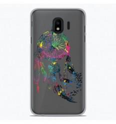 Coque en silicone Samsung Galaxy J4 Plus 2018 - Dreamcatcher Gris