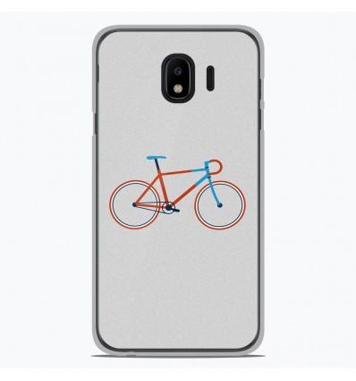 Coque en silicone Samsung Galaxy J4 Plus 2018 - Bike color Hipster
