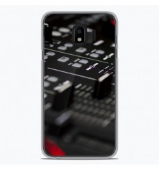 Coque en silicone Samsung Galaxy J4 Plus 2018 - Dj Mixer