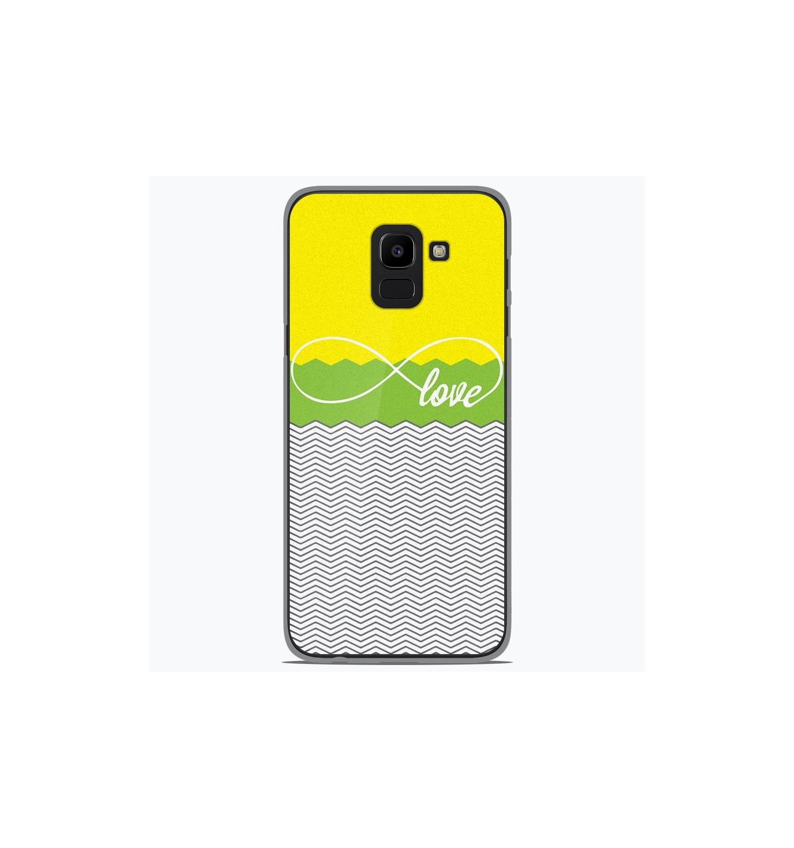 Coque Samsung Galaxy J6 2018Adidas Vert Coque Compatible Samsung Galaxy J6 2018