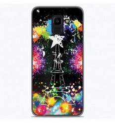Coque en silicone Samsung Galaxy J6 Plus 2018 - Tour Eiffel