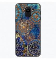 Coque en silicone Samsung Galaxy J6 Plus 2018 - Mandalla bleu
