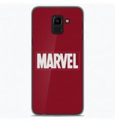 Coque en silicone Samsung Galaxy J6 Plus 2018 - Marvel