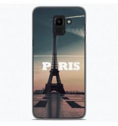 Coque en silicone Samsung Galaxy J6 Plus 2018 - Paris