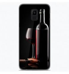 Coque en silicone Samsung Galaxy J6 Plus 2018 - Vin